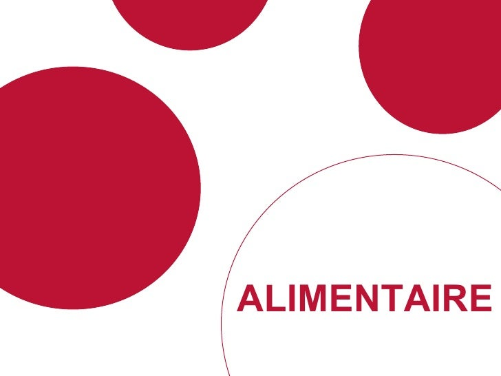 ALIMENTAIRE
