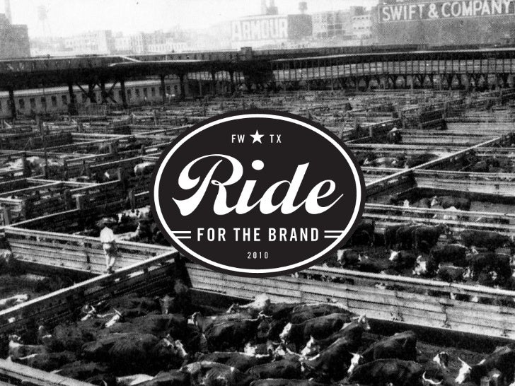 Ride For The Brand - Our Work
