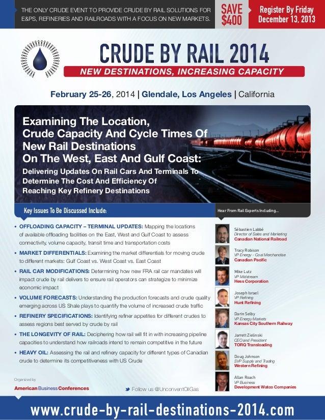 Crude By Rail Congress