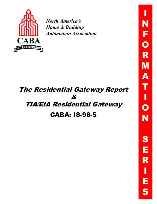 The Residential Gateway