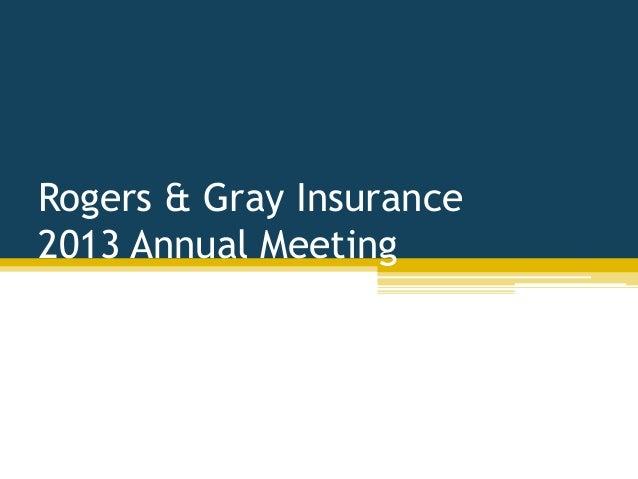 Rg 2013 annual meeting presentation