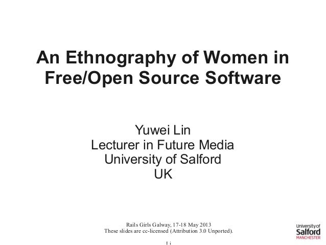 An Ethnography of Women in Free/Libre Open Source Software