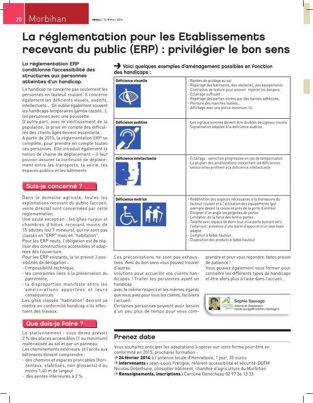 La réglementation pour les Etablissements recevant du public (ERP) : privilégier le bon sens