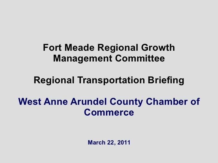 Rgmc West County Cc Transportation Briefing 110322 Rl