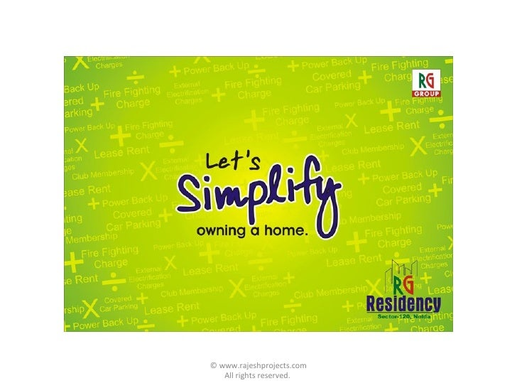 Rg Residency, Sector-120, Noida