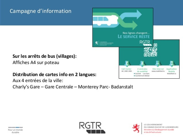 Rgtr buses for Badanstalt piscine luxembourg