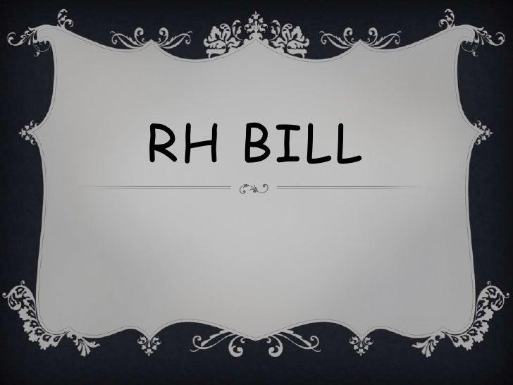 RH Bill<br />
