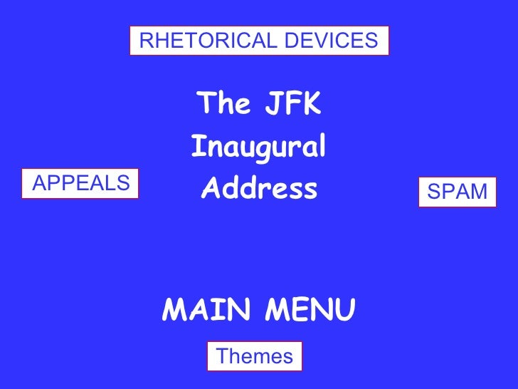 jfk inaugural address analysis