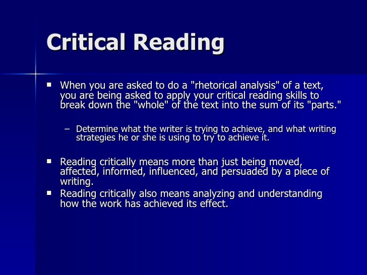 a textual analysis essay Textual analysis is a research method that requires the researcher to closely analyze the what is the definition of textual analysis a: textual analysis essay.