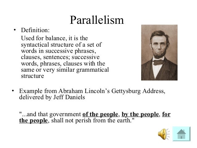 Difference between antithesis and parallelism