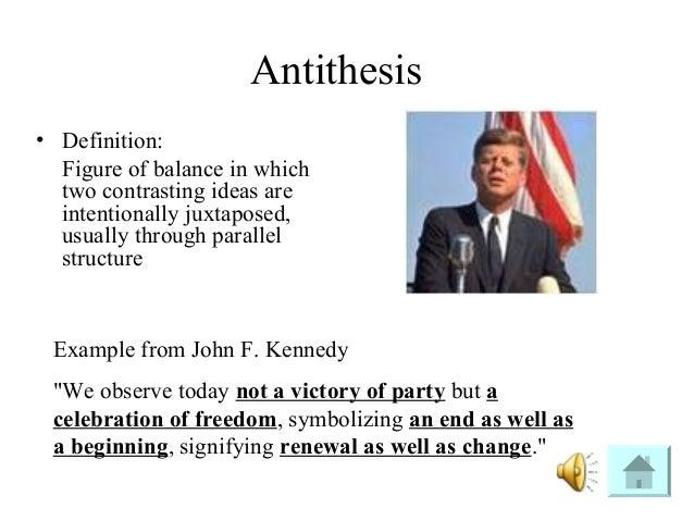 rhetorical analysis john f kennedy Rhetorical analysis of john f kennedy's inaugural address president john f kennedy delivered a speech.