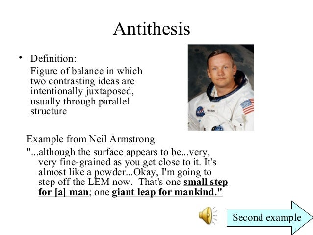 What is antithesis? Antithesis examples & definition