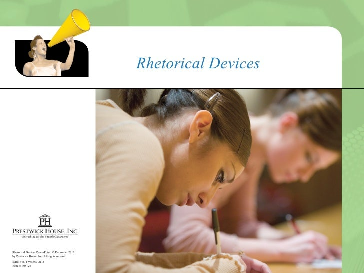 Rhetorical Devices (Part 1)