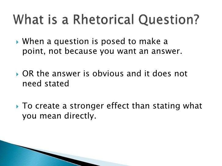 can you use rhetorical questions in essays