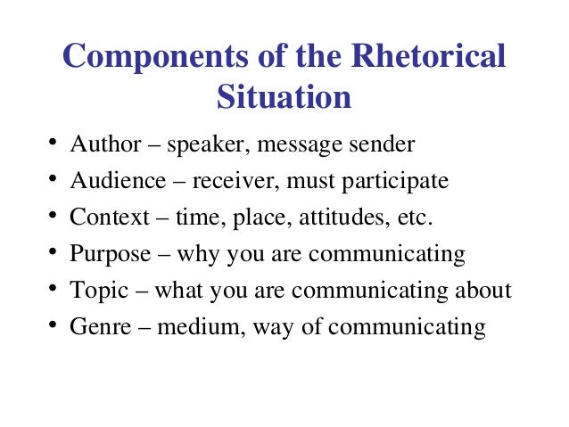 What is the purpose of a rhetorical analysis essay