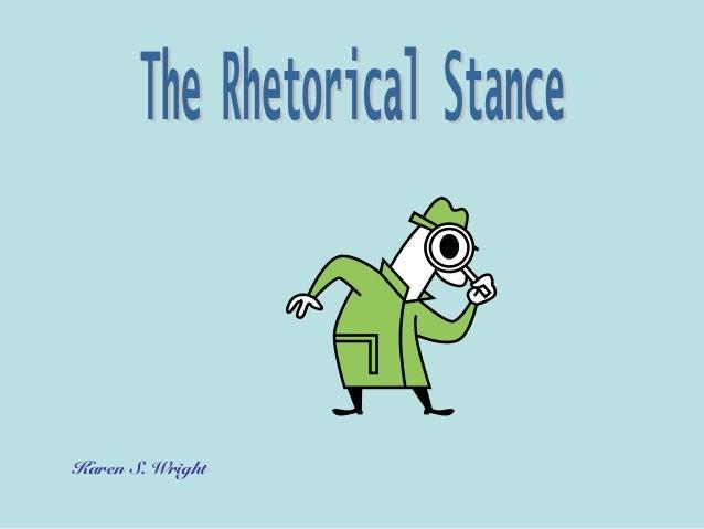 Rhetorical stance copy 1