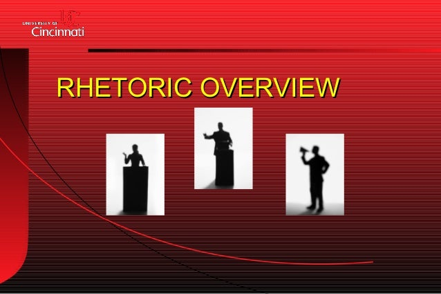 Rhetoric overview