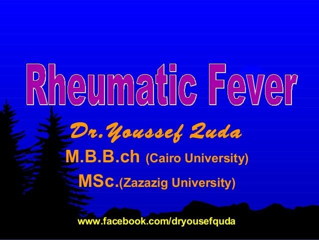 Rheumatic fever in children