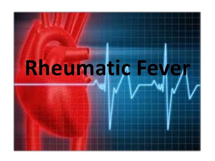 Rheumatic Fever Presentation
