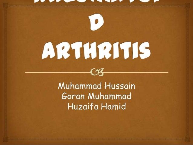 RA Rheumatoid Arthritis