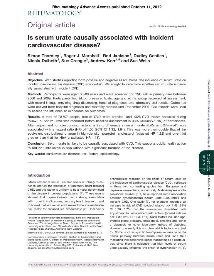 Rheumatology Advance Access published October 11, 2012RHEUMATOLOGYOriginal article                                        ...