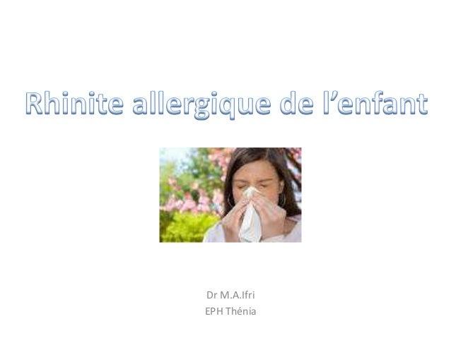 Dr M.A.Ifri EPH Thénia