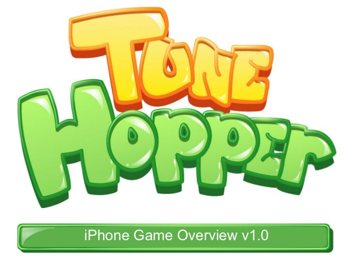 iPhone Game Overview v1.0