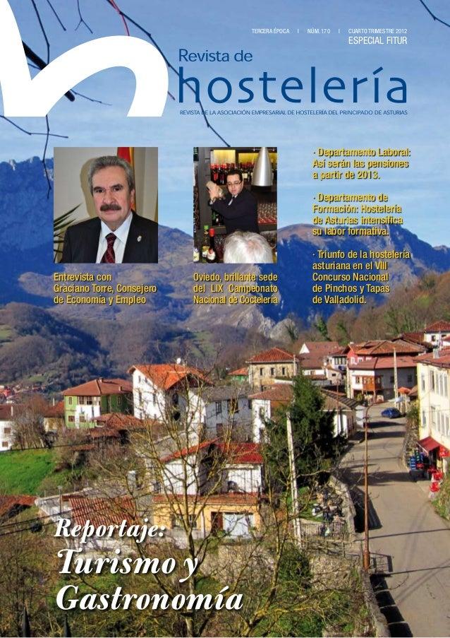 Revista de Hosteleria - 4º trimestre 2012
