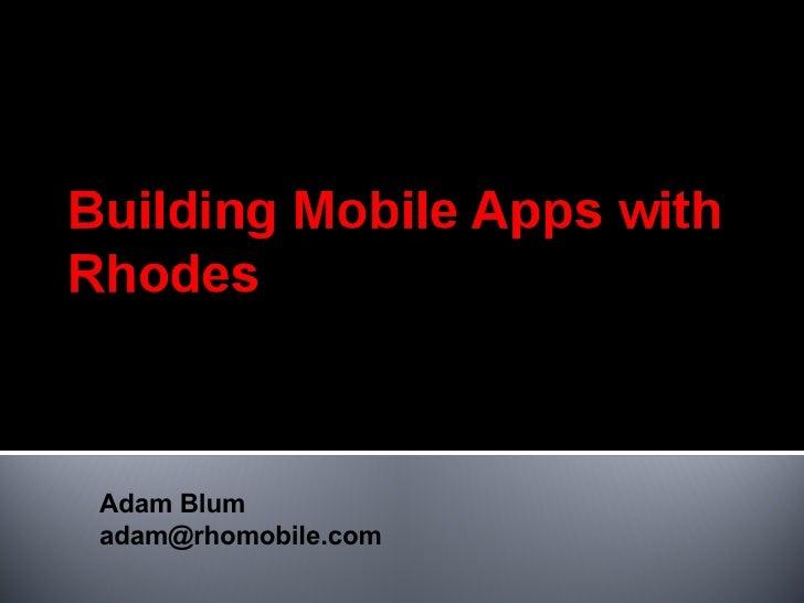 Adam Blum [email_address]