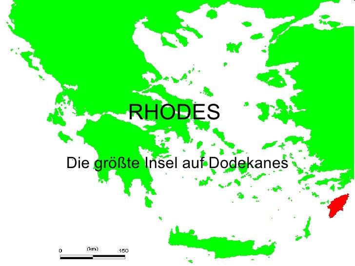 RHODESDie größte Insel auf Dodekanes