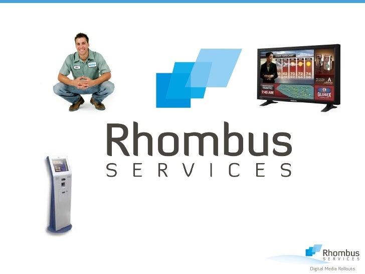 Rhombus General Information 2009