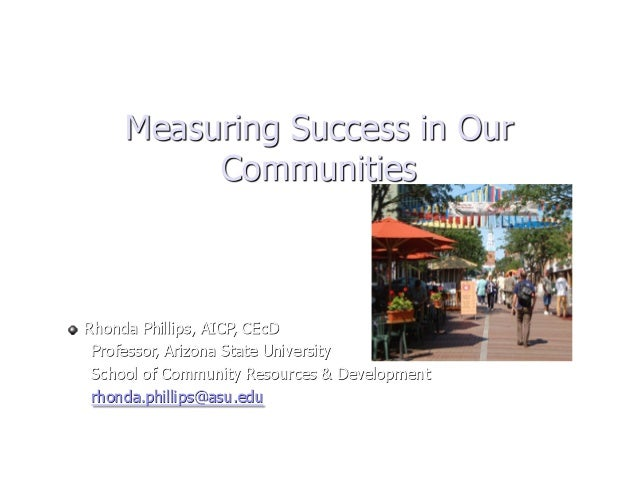 CM10 Measuring Success Rhonda Philips
