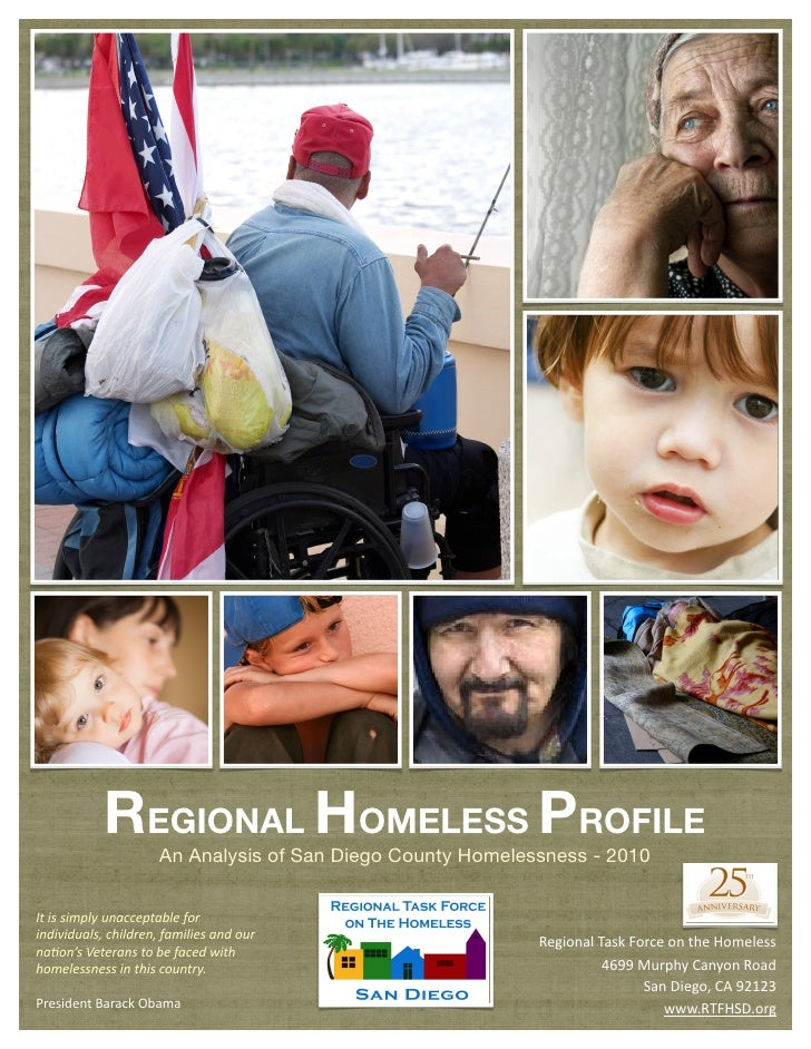San Diego Regional Homeless Profile