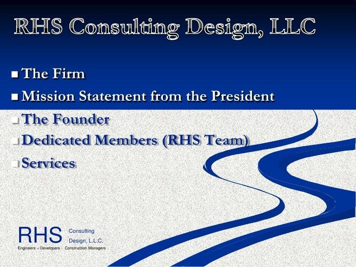 RHS Company Slideshow