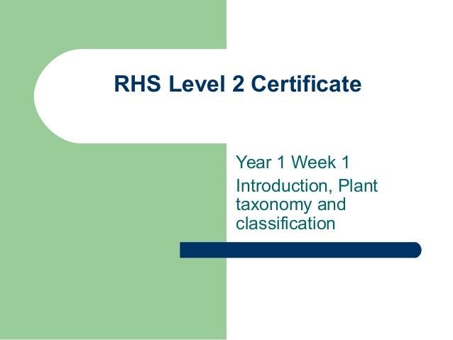 Rhs week 1 powerpoint 2013