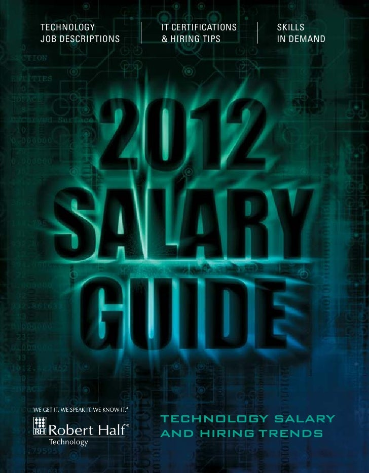 2012 Salary Guide - Robert Half Technology