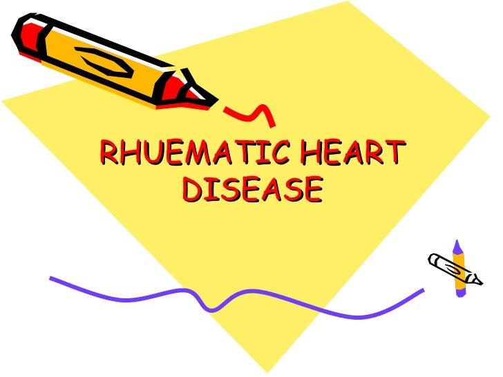 Rhuematic heart disease