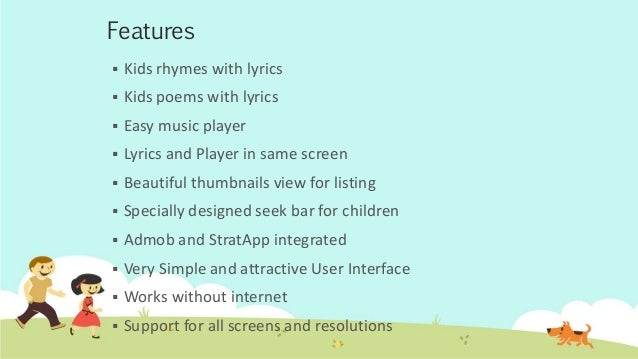 Rhymes Amp Poems Android App For Kids