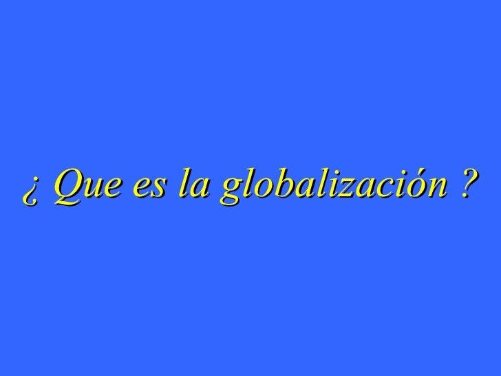 Ri - Globalizacion