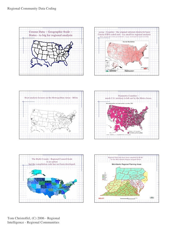 U.S. Region Code Case in Six Maps