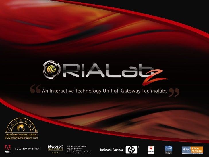 RIAlabz Corporate Presentation
