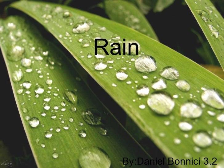 Rain by Daniel Bonnici, 3.02.