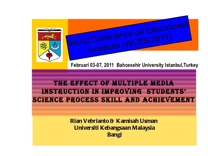 World Conference on Educational Scien c es (WCES 2011) F ebruari  03-07,  201 1  Bahcesehir University Istanbul,Turkey THE...