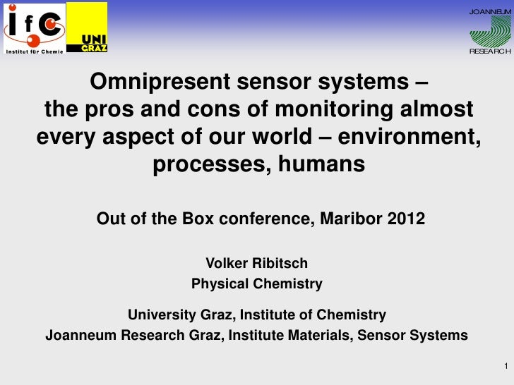 OBC | Omnipresent sensor systems - the pros and cons of monitoring almost every aspect of our world – environment, processes, humans