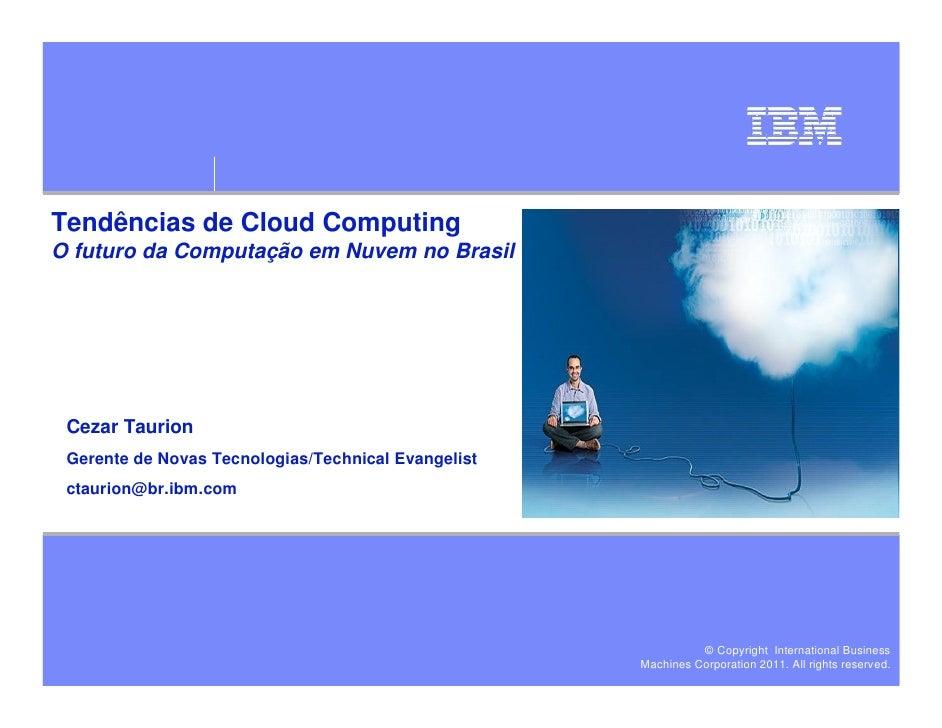 Cloud Computing: usos e tendências