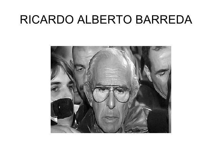 RICARDO ALBERTO BARREDA