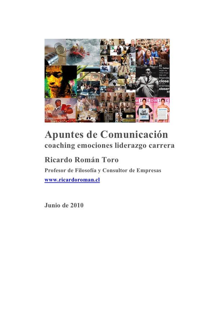 Ricardo roman   comunicacion coaching empresa 2010