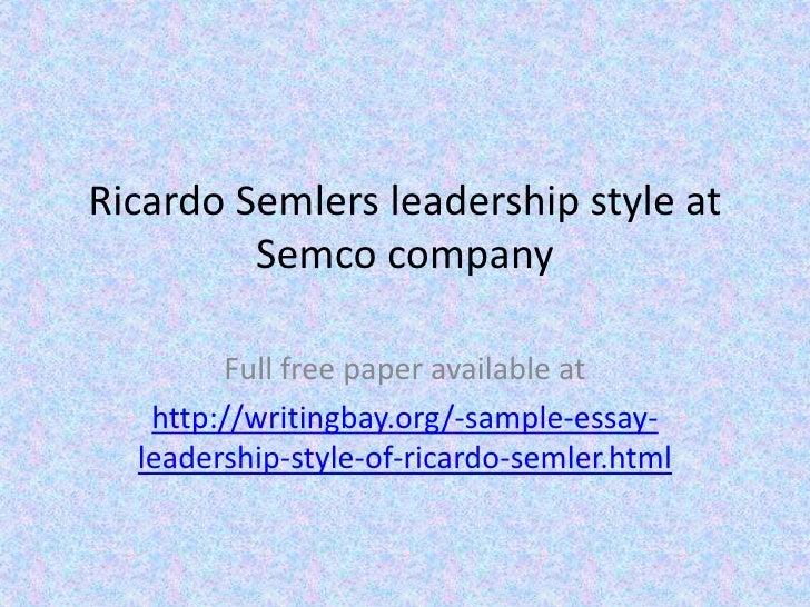 Leadership Essay Introduction