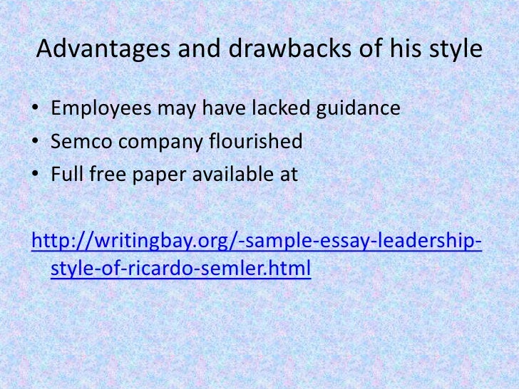 leadership essays examples