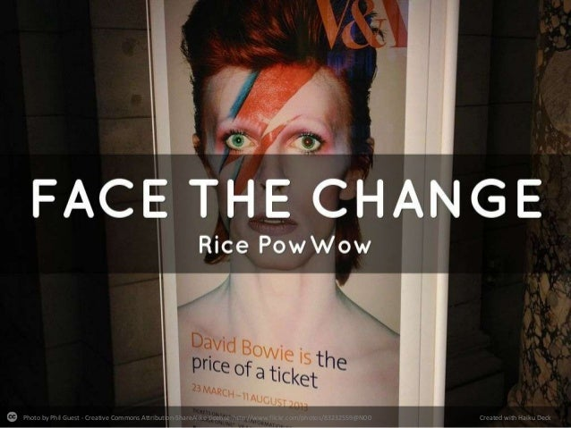 Face the Change: Rice Xmas PowWow 2013
